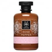 Apivita Rose pepper Αφρόλουτρο με αιθέρια έλαια 300ml