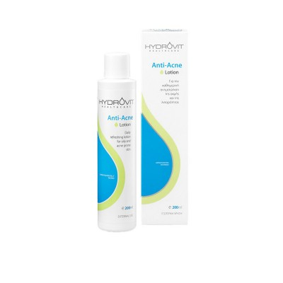 Hydrovit Anti-Acne λοσιόν για λιπαρό ή με τάση ακμής δέρμα 200ml