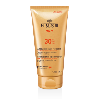 Nuxe SUN Delicious Lotion Face-Body High Protection SPF30 150ml & ΔΩΡΟ Aftersun 100ml