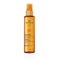Nuxe SUN Tanning Oil Face-Body Low Protection SPF10 150ml & ΔΩΡΟ Aftersun 100ml