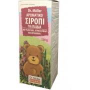 Dr. Muller Pharma Αρωματικό Σιρόπι για Παιδιά με Plantain, Θυμάρι & Βιταμίνη C 320gr