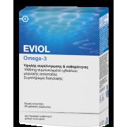Eviol Omega 3 1000ml Ιχθυέλαιο υψηλής συγκέντρωσης & καθαρότητας 30caps