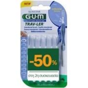 GUM Trav-ler Μεσοδόντια Βουρτσάκια 0,6mm 2 x 6τμχ