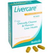 Health Aid Livercare Φυσική αποτοξίνωση & καθαρισμός συκωτιού 60tbs