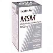 Health Aid MSM 1000mg με βιταμίνη C 90tbs