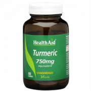Health Aid Turmeric 750mg 60tbs