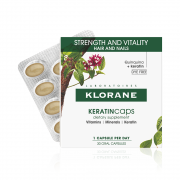 Klorane Keratincaps Συμπλήρωμα Διατροφής για Μαλλιά & Νύχια 30cap