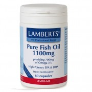 Lamberts Pure fish oil Ιχθυέλαιο 1100ml 60caps
