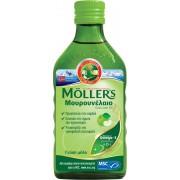 Mollers Μουρουνέλαιο υγρό για ενήλικες και παιδιά με γεύση μήλο 250ml