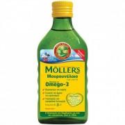 Moller's Μουρουνέλαιο υγρό για ενήλικες και παιδιά γεύση φυσική 250ml