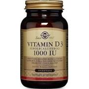 Solgar Vitamin D3 1000iu 100caps