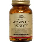 Solgar Vitamin D3 (Cholecalciferol) 2200IU 100caps
