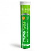 Vitamin Force Multivitamin+mineral Αναβράζουσα πολυβιταμίνη με γεύση πορτοκάλι 20tb.eff.