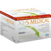 XL-S Medical Fat binder Συμπλήρωμα διατροφής για αδυνάτισμα 180 tb + ΔΩΡΟ 60tb