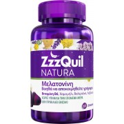ZzzQuil Natura Συπλήρωμα Διατροφής με Μελατονίνη 60 ζελεδάκια