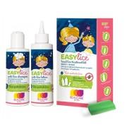 Easy lice Σύστημα αντιφθειρικής θεραπείας λοσιόν 125ml-σαμπουάν 125ml