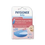 Physiomer φίλτρα ρινικού αποφρακτήρα 20τμχ