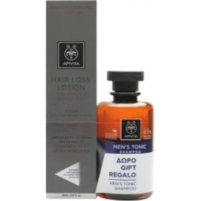 Apivita Hair Loss Lotion Τριχόπτωσης 150ml & Δώρο Men's Tonic Σαμπουάν Τριχόπτωσης 250ml