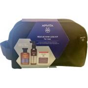 Apivita Mens Tonic Shampoo 250ml & Anti Loss Lotion 150ml & Hair caps 30caps