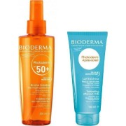 Bioderma Photoderm Brume Αντιηλιακό διάφανο spray προσώπου-σώματος-μαλλιών SPF50 200ml δώρο aftersun 100ml