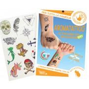 Gisa Aroma Tattoo Εντομοαπωθητικά Tattoo Με Βιολογικά Αιθέρια Έλαια 12τμχ