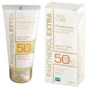 Panthenol Extra Diaphanous Sun Care Face GelSPF50 Διάφανο αντιηλιακό gel προσώπου 50ml
