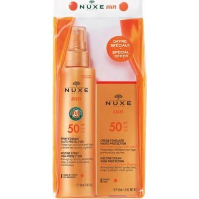 Nuxe Sun Face Cream SPF50 50ml & Melting Spray SPF50 150ml