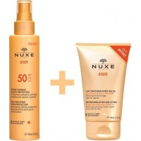 Nuxe Sun Melting Spray High Protection SPF50 150ml & ΔΩΡΟ Aftersun 100ml