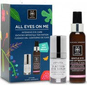 Apivita All Eyes On Me Set Serum Ματιών 15ml &  ΔΩΡΟ Γαλάκτωμα Ντεμακιγιάζ Ματιών 100ml