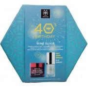 Apivita Wine Elixir Αντιρυτιδική Κρέμα Σύσφιξης & Lifting Πλούσιας Υφής 50ml & ΔΩΡΟ Ορός Ματιών 15ml