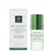 Apivita Bee radiant Κρέμα ματιών αντιγήρανσης-λάμψης 15ml