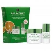 Apivita Bee Radiant Κρέμα Aντιγήρανσης, Λάμψης Ελαφριά Υφή 50ml & ΔΩΡΟ Bee Radiant Κρέμα Ματιών 15ml