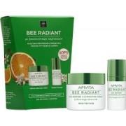 Apivita Bee Radiant Κρέμα Aντιγήρανσης, Λάμψης Πλούσια Υφή 50ml & ΔΩΡΟ Bee Radiant Κρέμα Ματιών 15ml