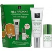 Apivita Bee Radiant Κρέμα Αντιγήρανσης & Λάμψης SPF30 40ml & ΔΩΡΟ Bee Radiant Κρέμα Ματιών 15ml