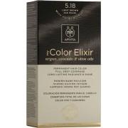Apivita My Color Elixir 5.18 Καστανό Ανοιχτό Σαντρέ
