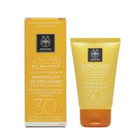 Apivita Αντιηλιακή κρέμα προσώπου SPF30 για λιπαρό δέρμα 50ml