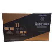 Apivita Queen Bee Rich Texture 50ml & Serum 10ml & Night Cream 15ml