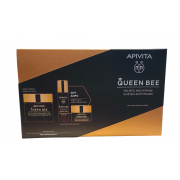 Apivita Queen Bee Night Cream 50ml & Serum 10ml & Light Cream 15ml