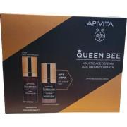 Apivita Queen Bee Serum 30ml & ΔΩΡΟ Queen Bee Eye Cream 15ml