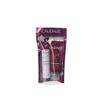 Caudalie The des vignes σετ κρέμα χεριών 30ml και lip balm 4,5g