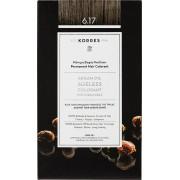Korres Argan Oil Ageless Colorant 6.17 Ξανθό Σκούρο Μπέζ 1τμχ