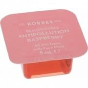 Korres Beauty cubes Antipollution Rasberry Μάσκα με αντιοξειδωτική δράση 8ml