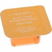 Korres Beauty cubes Invigorating orange Μάσκα αναζωογόνησης με πορτοκάλι 8ml