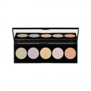 Korres Activated Charcoal Colour Correcting Palette 5,5g