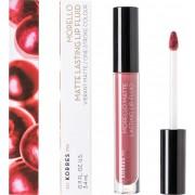 Korres Morello Matte Lasting Lip Fluid 10 Damask Rose 3.4ml