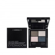 Korres Eyeshadow Quad The Candy Green Παλέτα σκιών