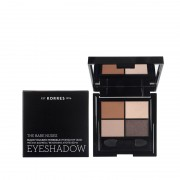 Korres Eyeshadow Quad The Bare Nudes Παλέτα σκιών
