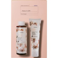 Korres Happy To Gift Floral Delight Shower Gel 250ml & Body Milk 125ml