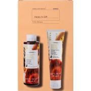 Korres Happy To Gift Fruity Delicacy Shower Gel 250ml & Body Milk 125ml