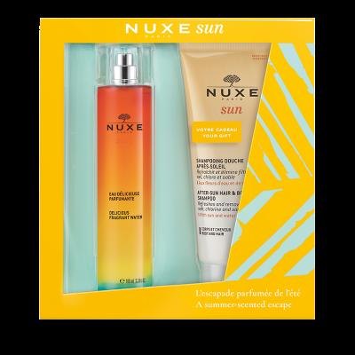 Nuxe Sun Delicious Fragrant Water 100ml & ΔΩΡΟ Αφρόλουτρο-Σαμπουάν 200ml